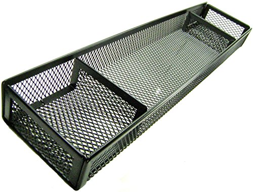 Mesh Deep Desk Drawer Organizer (Desk Organizer Tray - Black)