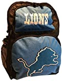NfL Detroit Lions Backpack Large School Bag Sports Water Bottle