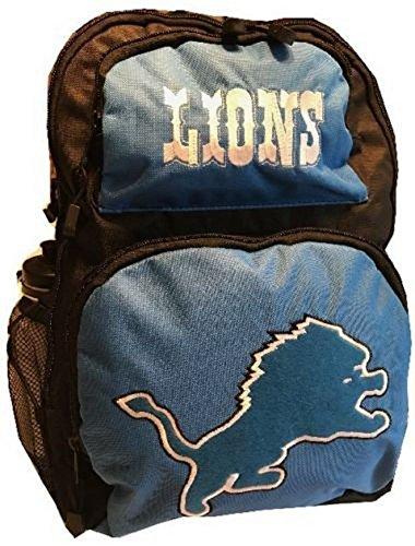 NfL Detroit Lions Backpack Large School Bag Sports Water (Nfl School Backpack)