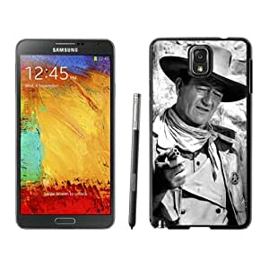 Beautiful And Durable Designed Case For Samsung Galaxy Note 3 N900A N900V N900P N900T With John Wayne Black Phone Case