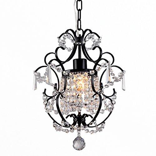Whse of Tiffany RL4025BL Ava 1-Light Black 11