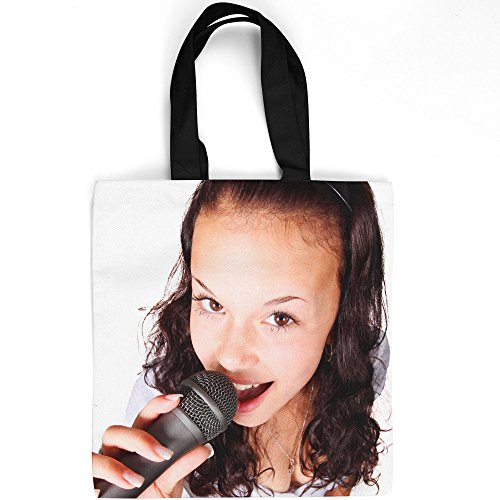 Westlake Art - Microphone Audio - Tote Bag - Picture Photography Shopping Gym Work - 16x16 Inch (D41D8)