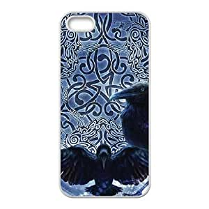iPhone 4 4s Cell Phone Case White Celtic Raven G4D7QZ
