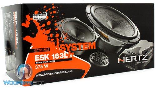 "HERTZ ESK 165.5 Energy Series 6.5/"" 2-Way Car Audio Component Speakers 300W New"