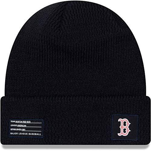 New Era Boston Red Sox Beanie MLB On Field Sport Knit Cap Navy Adult One Size