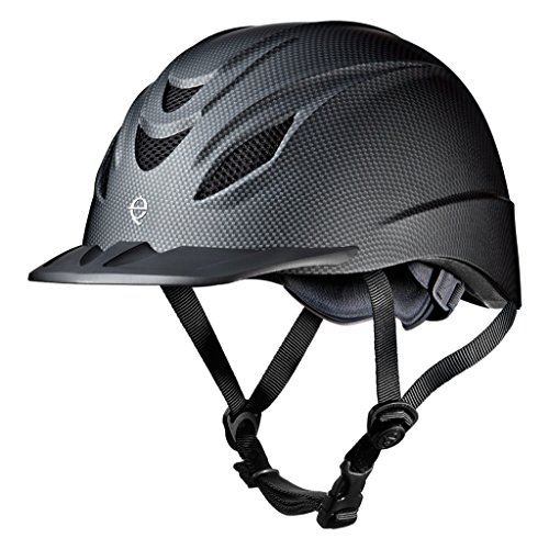 Troxel Chart Size Helmet (TROXEL INTREPID CARBON HORSE RIDING HELMET ♦ ULTRALIGHT LOW PROFILE PERFORMANCE ADJUSTABLE ♦ All Sizes (Medium))