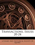 Transactions, Issues 20-24, , 114398904X