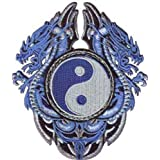 C&D Visionary P-3505 Blue Dragons with Yin Yang Patch