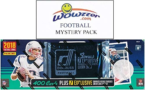 (2018 Donruss NFL Football MASSIVE 401 Card Complete Factory Set with 101 ROOKIE Cards including EXCLUSIVE Rookie Threads Memorabilia! Plus Bonus WOWZZER Mystery Pack with AUTOGRAPH or MEMORABILIA Card)