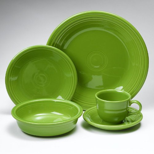 Fiesta Dinnerware 20 Piece Dining Set - Shamrock Green - 855324