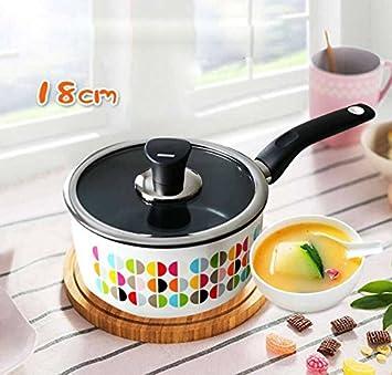 WHS Cookware Sopa de cacerola Cazuela Cacerola para no fumadores ...