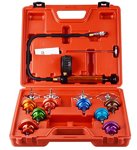 DA YUAN 14 pcs Automotive Cooling System Radiator Pressure Tester ()