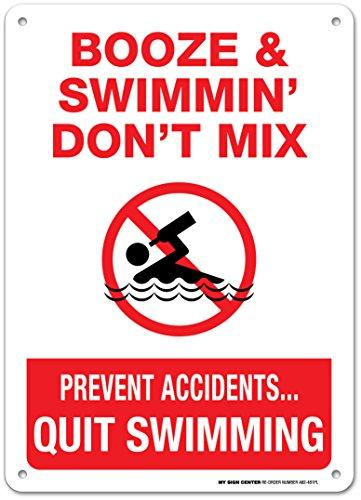 Top Pool Signs