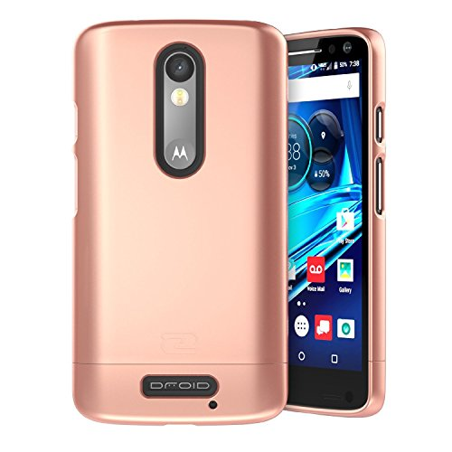 Amazon.com: Encased Motorola DROID Turbo 2 Case, Ultra-thin [SlimSHIELD] (2016) Ultimate Style + Protection (Rose Gold): Cell Phones & Accessories