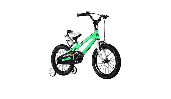 BaoKangShop Bicicletas Bicicletas para Niños Bicicletas para Bebés 2-10 Años Cochecito Niño Niña Bicicleta (Color : Green, Size : 12 Inches): Amazon.es: Deportes y aire libre