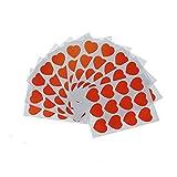 Shxstore Kawaii Red Heart Scrapbook Stickers Decals