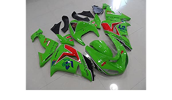 Amazon.com: Moto Onfire 2006 ZX10R Fairing Kit Fit For ...