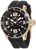 """Invicta Men's 1792 """"Specialty"""" 18k Gold Ion-Plated Watch"""