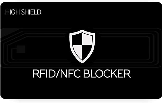 68 opinioni per Protezione RFID- HIGH SHIELD- RFID Card- RFID Blocking Card- RFID Blocker-