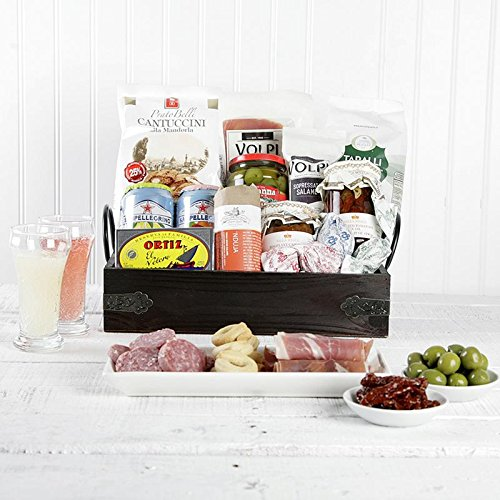 Antipasti Adventurer Gift Basket | Set of 11
