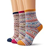 Best Cotton Socks - Ambielly Colorful Patterned Fun Comfort Casual socks Lightweight Review