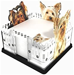 Got Yo Gifts Yorkie Fence Note Holder