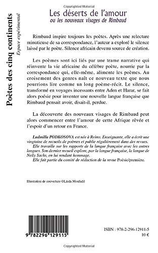 Les Déserts De Lamour Ou Les Nouveaux Visages De Rimbaud