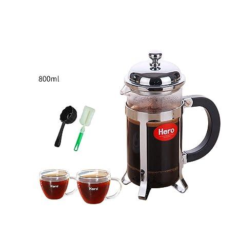 Kaiyu Olla de presión de Acero Inoxidable, cafetera, café ...
