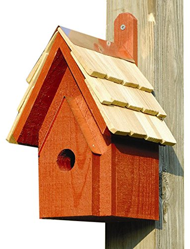 Heartwood 076C Classic Decorative Bird House (Birdhouse Redwood Cypress)