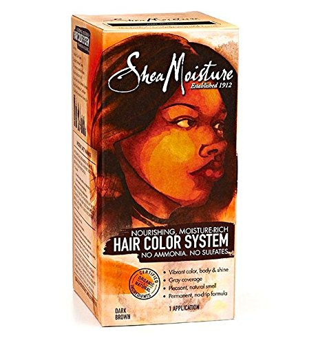 Shea Moisture Dark Brown Hair Color System by Shea Moisture
