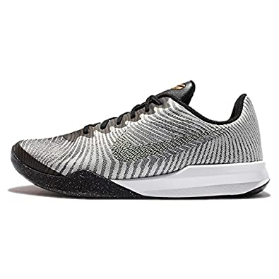 Select options to buy. Nike Mens KB Mentality II Pure Platinum Metalic Gold Basketball  Shoes