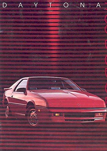 1988 Shelby Dodge (1988 Dodge Daytona Shelby Z Sales Brochure)