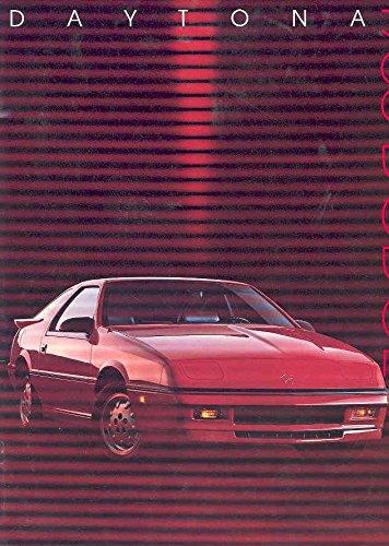 Shelby Dodge 1988 (1988 Dodge Daytona Shelby Z Sales Brochure)