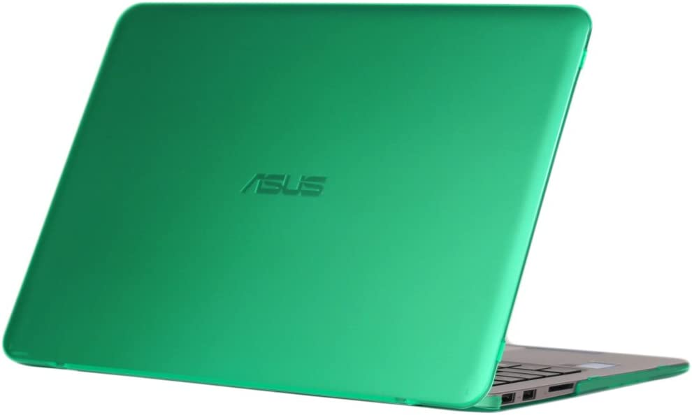 iPearl mCover Hard Shell Case for 13.3-inch ASUS ZENBOOK UX305UA Series (NOT Fitting UX305FA Series) Laptop - Green