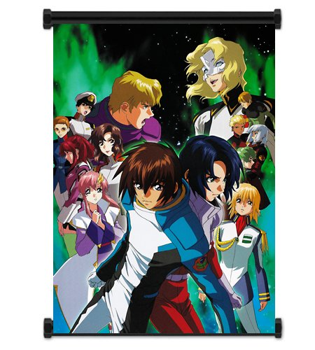Mobile Suit Gundam Seed Anime Fabric Wall Scroll Poster (16x21) Inches. [WP]-Gundam Seed-40