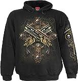 Search : Spiral Mens - Steampunk Skeleton - Hoody Black