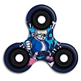 Undertale Sans Spinner Fidget Toy Hand Spinner Toy EDC Helps Focus, Stress, Anxiety, Boredom