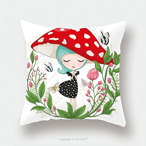 Custom Satin Pillowcase Protector Cute Girl Vector Children Illustration For School Books And More T Shirt Graphic Cartoon Character 547537486 Pillow Case Covers Decorative by chaoran