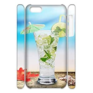 MEIMEIipod touch 4 Case 3D, Iced Drinks Case for ipod touch 4 white lmipod touch 4172414LINMM58281