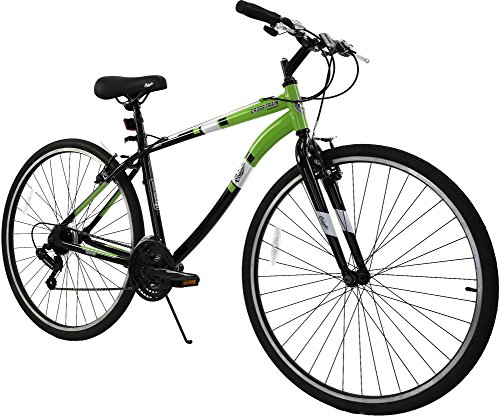 Columbia Cross Train 700c Men's 21-Speed Fitness Hybrid Commuter Bike