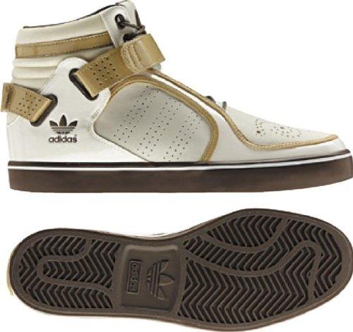 Adidas Originali Mens Adi-rise Mid Sneaker Gesso / Tanblend / Greyblend