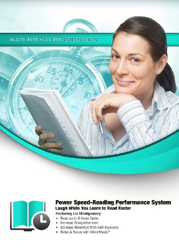 Power Speed-Reading Performance System: Laugh While You Learn to Read Faster (Made for Success Collection) by Made for Success, Inc. and Blackstone Audio, Inc.