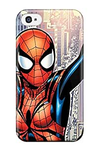 New Arrival Spider-girl For Iphone 4/4s Case Cover