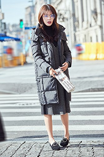 Generic High-Vatican winter new casual version long section female Korean fashion warm down jacket thick coat tide for women girl by Generic (Image #2)