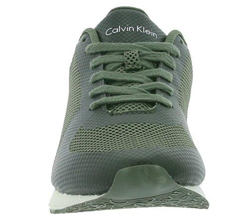 Calvin Klein JeansJack Mesh/rubber Spread - Zapatillas Hombre Military