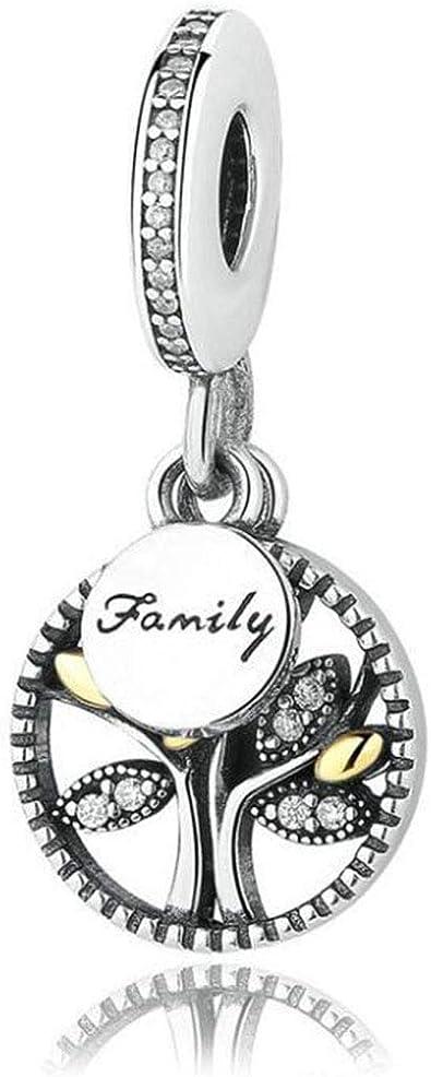bracciale pandora con ciondoli family