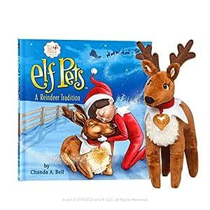 Elf en el Estante una tradición de Reno Reno Elfo Mascotas: Amazon ...
