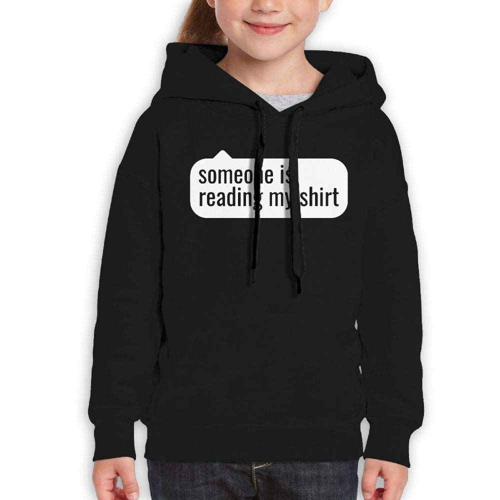 Yishuo Youth Limited Edition Funny Travel Hoodie M Black