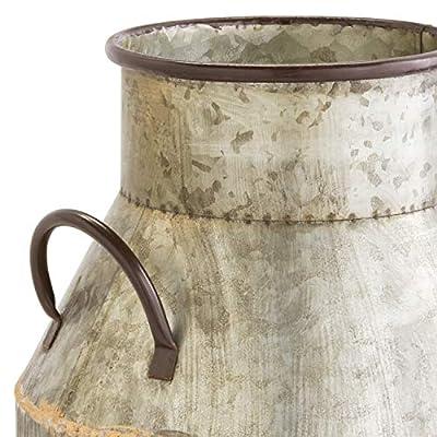 Stone & Beam Vintage Milk Planter, 18.5