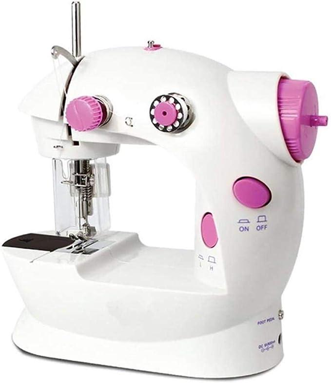 Yuaer Máquina de coser eléctrica portátil con herramientas de ...